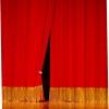 Химчистка гардин,  портьер,  драпировки помещений,  занавесов и одежды сцены в Берёзовском