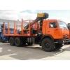 Сортиментовоз с КМУ ОМТЛ-70-02 на шасси КАМАЗ-43118-46