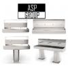 """Бесконтактные,  многосекционные сенсорные рукомойники """"ASP-group"""" модели ASP-WL,  Москва"""