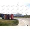 Ангар быстровозводимый бескаркасный разборный арочный со склада