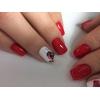 Маникюр+Коррекция наращенных ногтей+френч+дизайн
