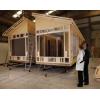 Производство каркасно-модульных домов из дерева.