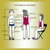 Составим выкройку-основу женской,  мужской и детской одежды