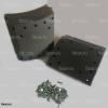 Накладка тормозной колодки higer 6119 с заклепками комплект