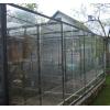 Клетка-вольер для больших птиц- попугаев,       сов,       ворон.