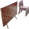 Комплект стол  4 стула для летнего кафе