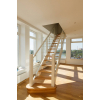 Изготовление деревянных лестниц на второй этаж