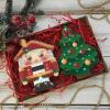 Новогоднее печенье – сувениры с логотипом