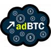 Adbtc — лучший сайт для заработка Bitcoin