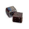 Шоколад с логотипом в необычных формах — кубики и стики