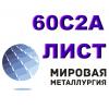 Листы рессорно-пружинной марки стали 60С2А из наличия