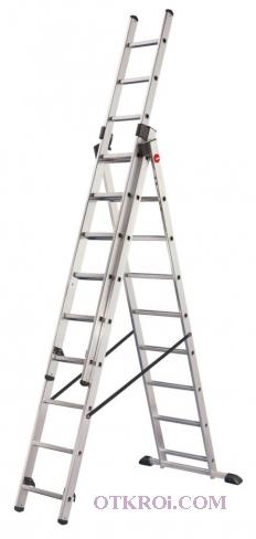 Алюминиевую лестницу стремянку 3х11 в Реутове