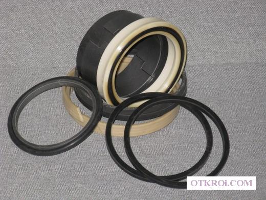 Ремкомплект гидроцилиндра опускания опор КМУ Синегорец-75