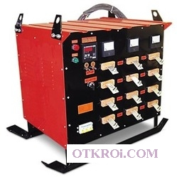 Трансформатор прогрева бетона ТСДЗ-63 А (380 В)    (с автоматикой)