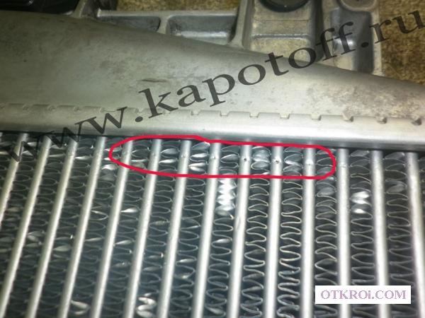 Ремонт радиатора автомобиля.   Ремонт пластикового бачка радиатора охлаждения.