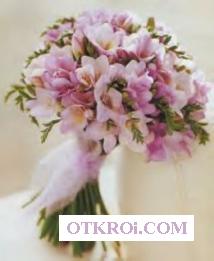 Свадебный букет Флористика