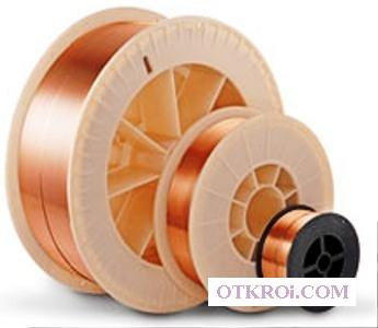 СВ 08 Г2С ф 1,  0 мм (5кг)  D200 сварочная проволока омедненная