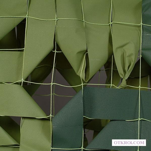 Маскировочная сетка, маскировочные костюмы