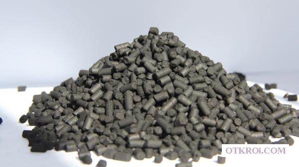 Активированные угли на каменноугольной основе:  АГ-2,  АГ-3,  АГ-5,  АГС-4,  АР-А,  АР-В,  СКД,  Купрамит