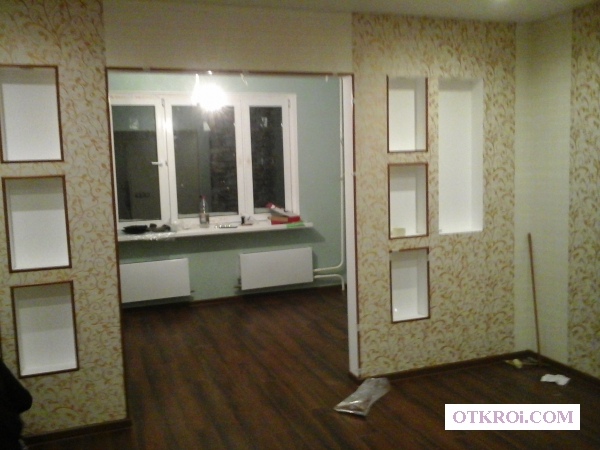 Ремонт квартир под ключ в городе Железнодорожном