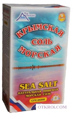 Крымская морская соль в Питере, где купить.