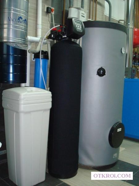 Установка систем очистки воды в коттеджи и таунхаусы в Москве и МО