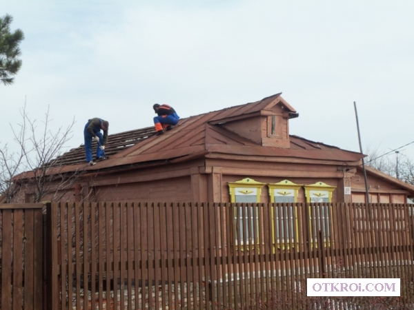 Кровельные работы,  капитальный ремонт дома