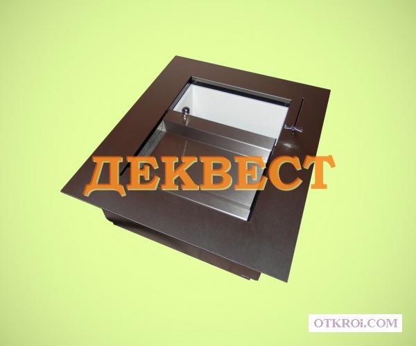 Передвижной кассовый лоток УПП-5.  Деквест.