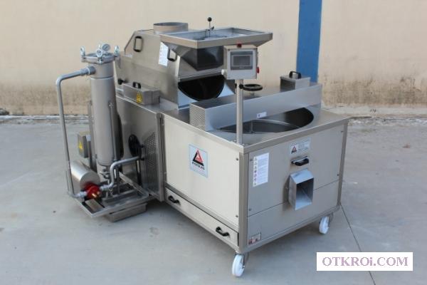 Фритюрница - печь для жарки и обжаривания арахиса в масле.