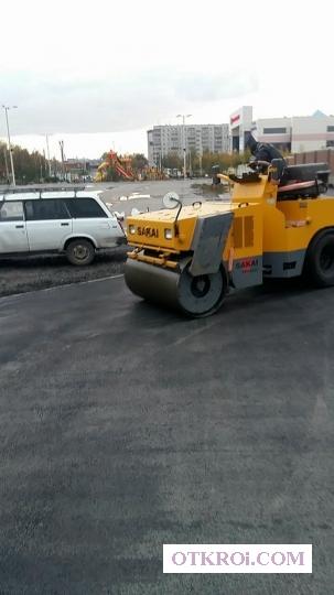 -Асфальтирование в Новосибирске