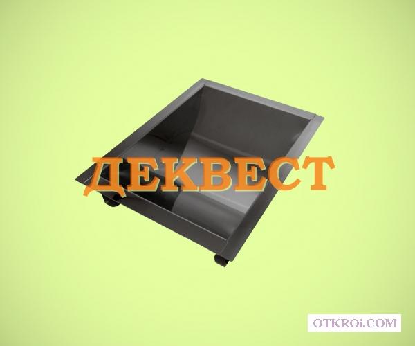Неподвижный банковский лоток УПН-5. Деквест.