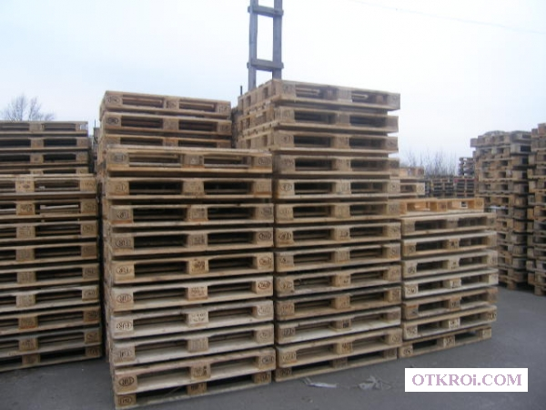 Деревянные поддоны 1200х800 и 1200х1000