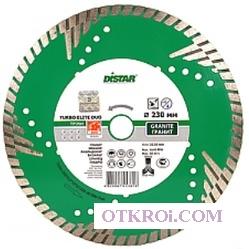 1A1R 230х3, 0х10х22, 23 z5 Turbo Elite Duo, круг алмазный отрезной (сухой рез) (С)