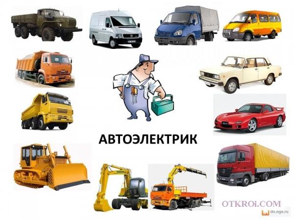 Оказываю профессиональные услуги автоэлектрика.
