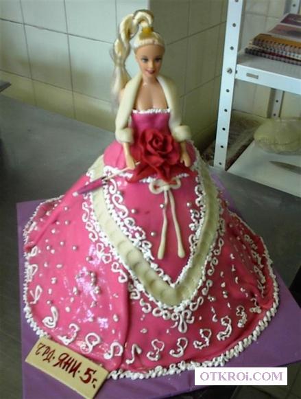 Торт Кукла