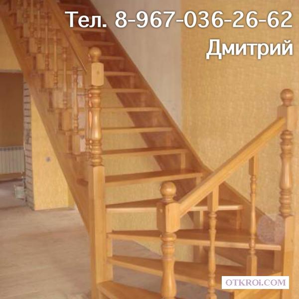 Лестницы на дачу. Изготовление и монтаж