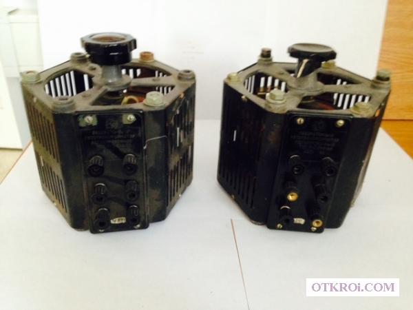 Автотрансформатор (латр) РНО-250-2 9А.
