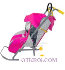 """Складные санки-коляска для детей """"НИКА ДЕТЯМ 1"""""""
