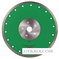 1A1R 200х1, 6х8, 5х22, 23/Н Turbo Elite Ultra, круг алмазный отрезной (сухой рез) (С)