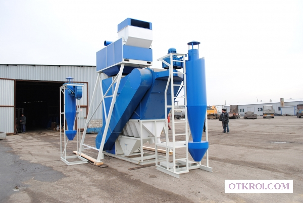 Сепаратор СПО для предварительной очистки зерна