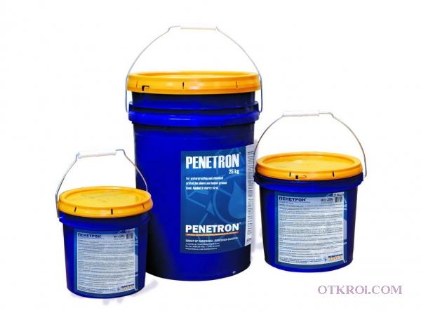 Пенетрон-проникающая гидроизоляция для бетона