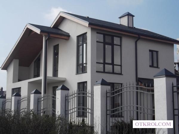 Выполняем работы по покраске фасадов зданий.