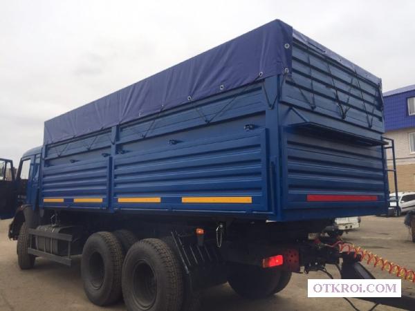 Зерновозный кузов- самосвал на а/м КамАЗ
