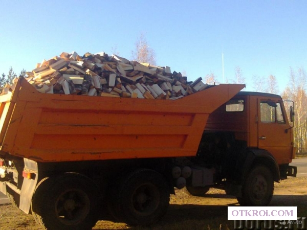 Дрова березовые колотые или чурки с доставкой