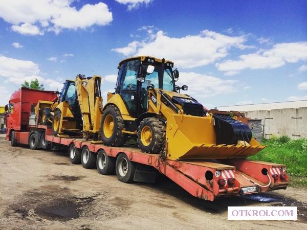 Перевозка спецтехники,  перевозка негабаритных грузов в Хабаровске