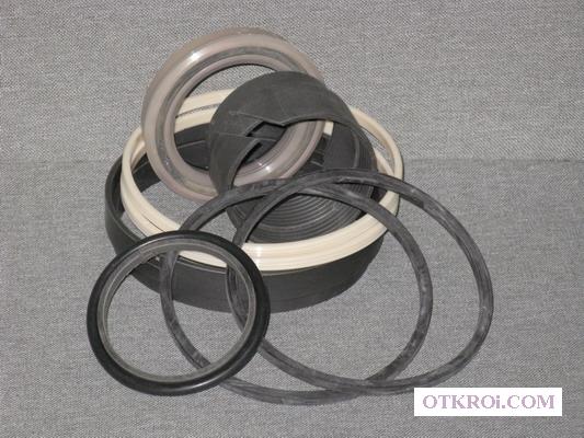 Ремкомплект гидроцилиндра выносной стрелы (рукояти) КМУ Синегорец-75