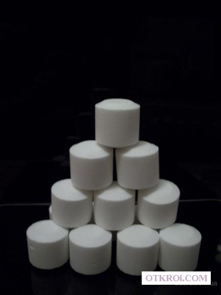 Соль таблетированная. Таблетки соли для фильтров воды