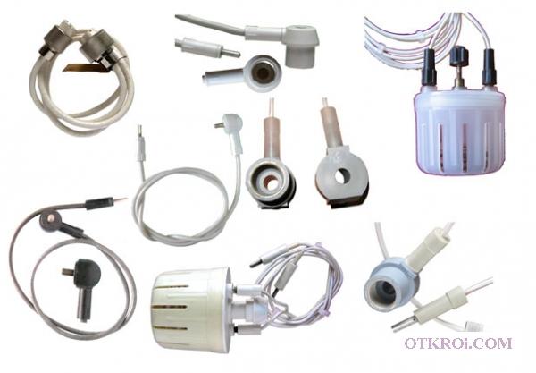 Кабели,  провода пациента электродные для аппаратов УВЧ