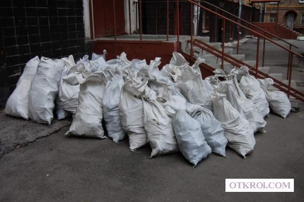 Строительный мусор в мешках, погрузка и вывоз т 464221