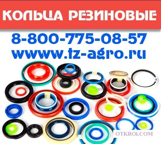 Кольца силиконовые уплотнительные круглого сечения